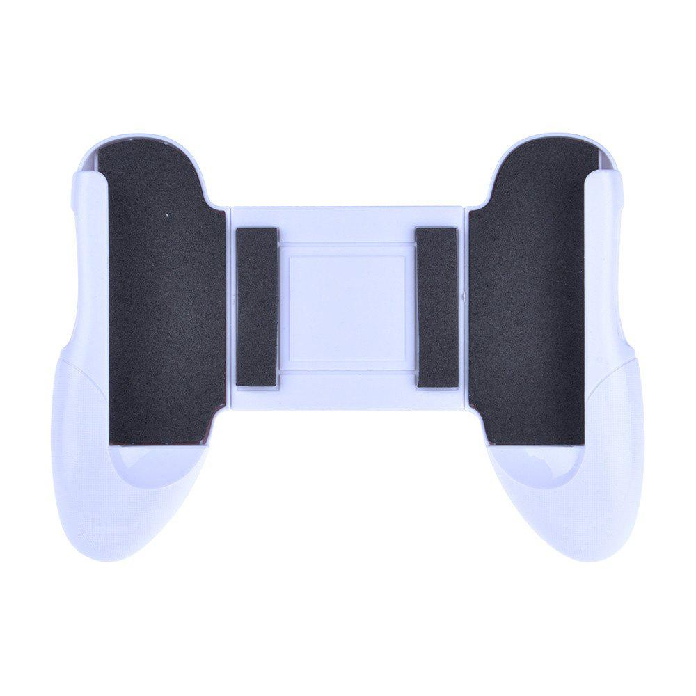 Phone Game Mount Hand Grip Clip Stand for iPhone /Android Gaming Handle Holder - WHITE