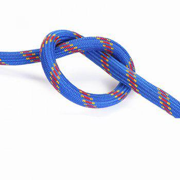Powerful 10M 10MM Diameter Outdoor Camping Hiking Escape Rope - BLUE