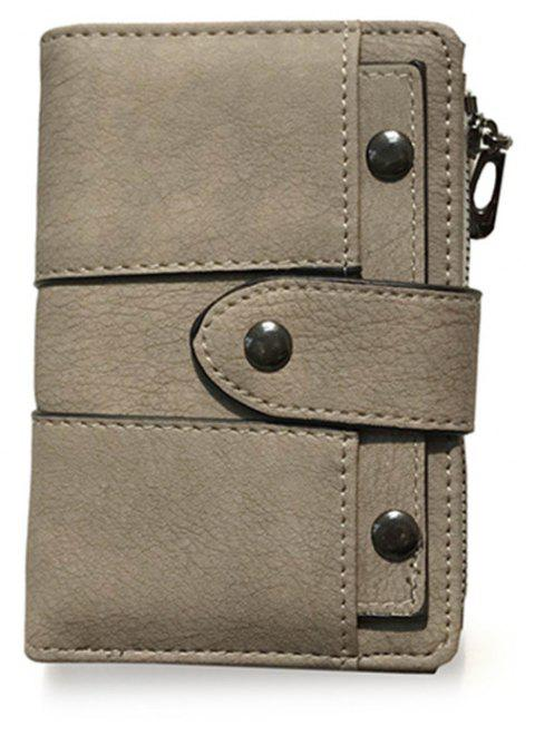 New Wallet Female Short Paragraph - DEEP BROWN