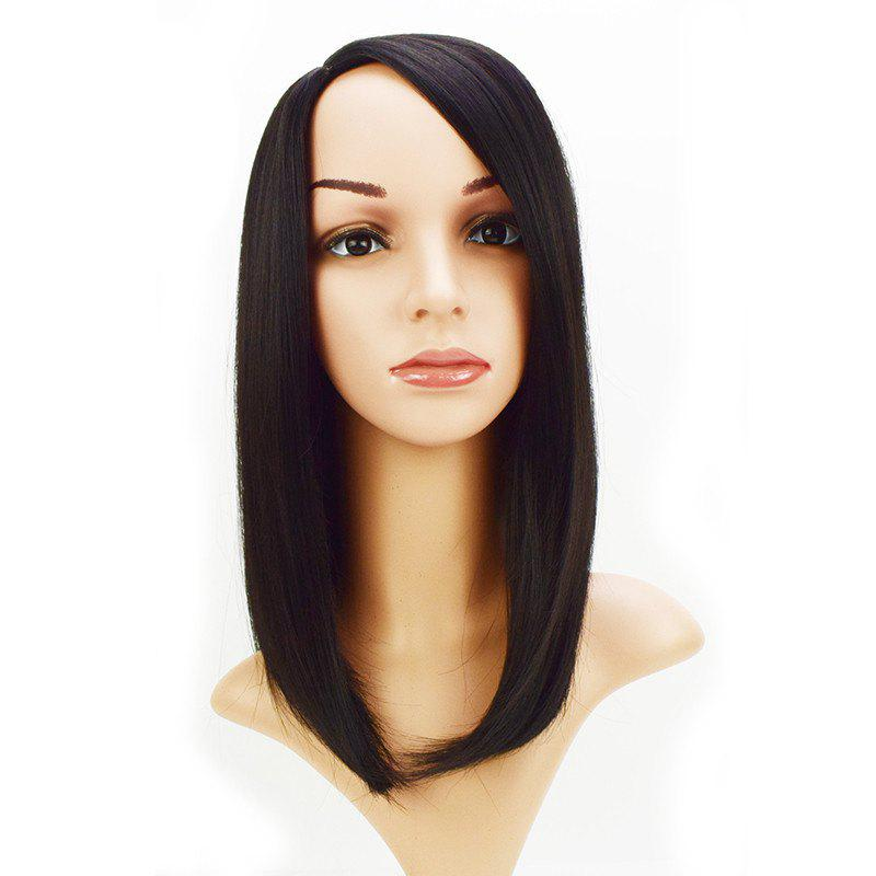 Fashion Short Bob Wig Straight Natural Black Synthetic Hair 16 inch 4 inch 6 inch straight cup diamond grinding wheel for glass edger straight line double edging beveling machine m009