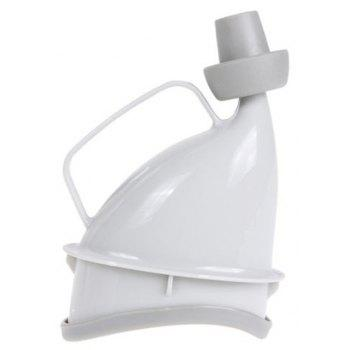 Portable Multifunctional Outdoor Female Stand Emergency Urinal - WHITE