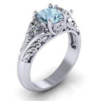 Hot Creative Sapphire Ring - DAY SKY BLUE US SIZE 9