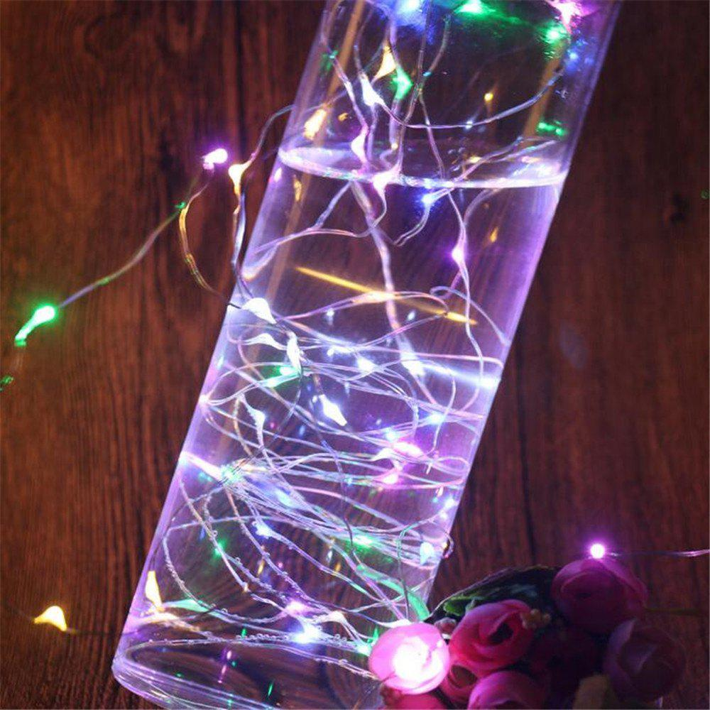 Battery Box Copper Lamp Wave Home Decoration Light String