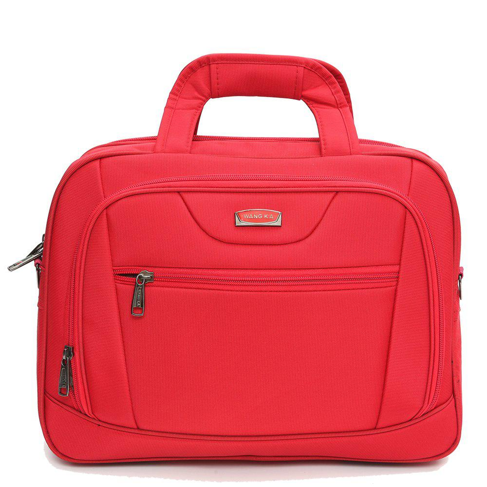 WANGKAG2018Men'S Fashion High Quality 15.6 Inch Laptop Bags for Business - FIRE ENGINE RED HORIZONTAL