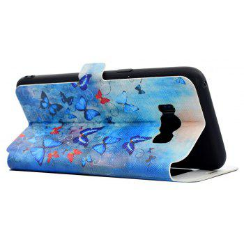 Simple Painted Mobile Phone Case Suitable for Samsung S8 - BLUE