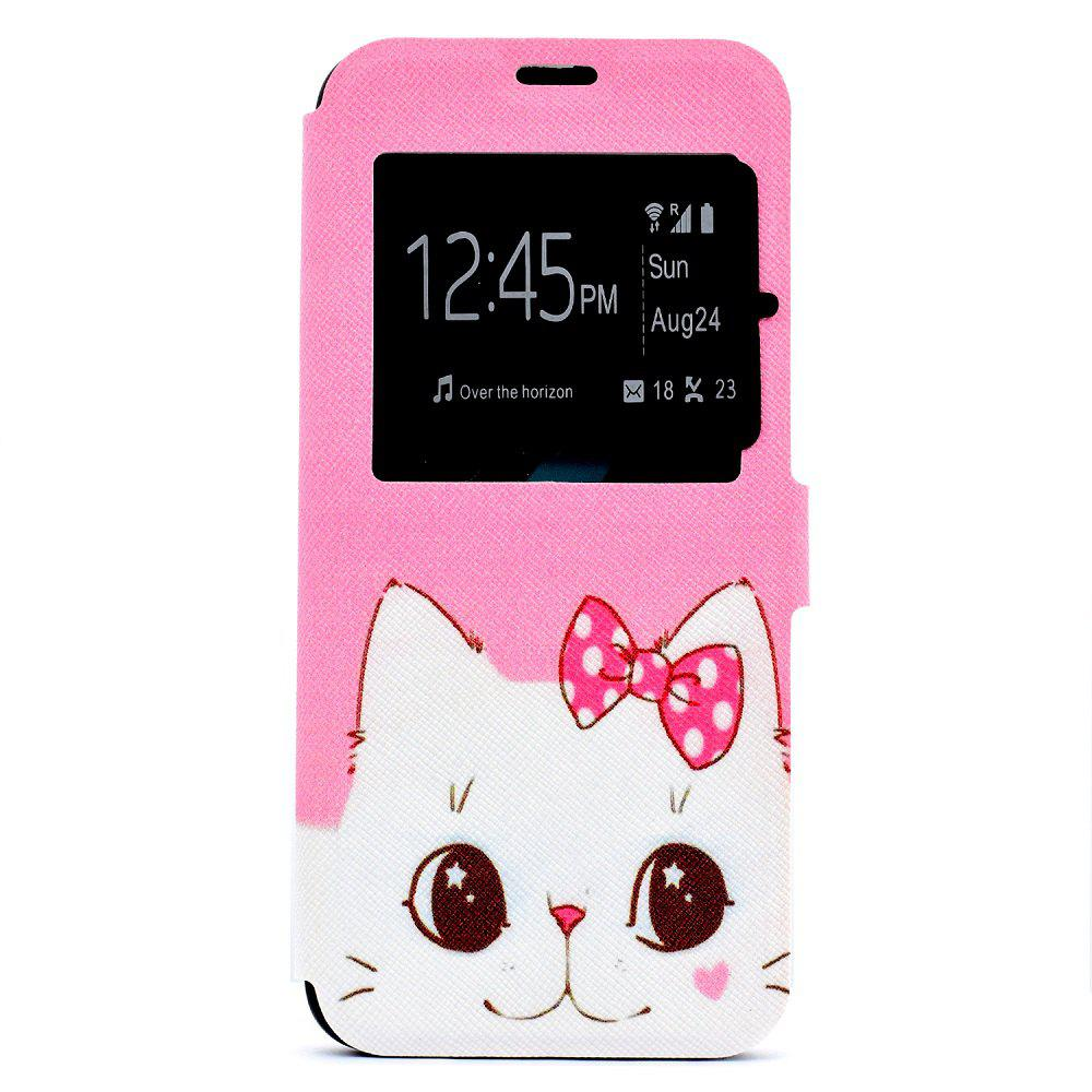 Simple Painted Mobile Phone Case Suitable for Samsung S8 - PINK