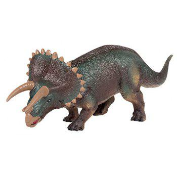 Angry Triceratops Model Toy - multicolor A