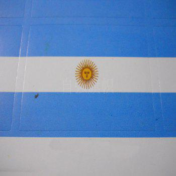 The Football World Cup Argentina Flag Body Tattoo Stickers - multicolor