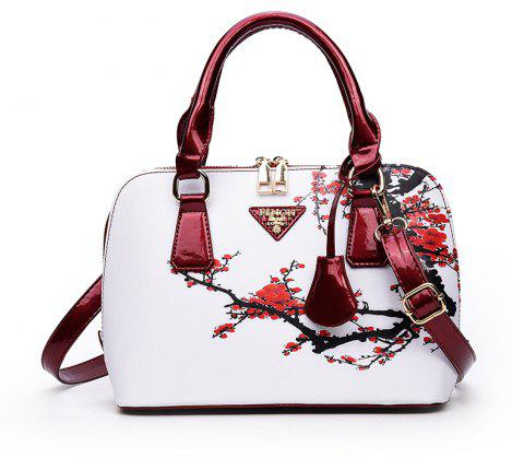Female New National Wind Messenger Shell Package - WINE RED