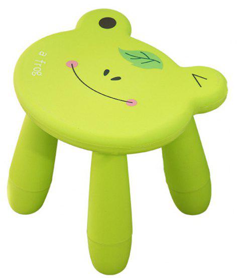 Baby Stool Cartoon Disassembly Assembly Change Shoes Stool - GREEN