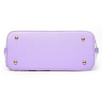 Female New National Wind Messenger Shell Package - PURPLE