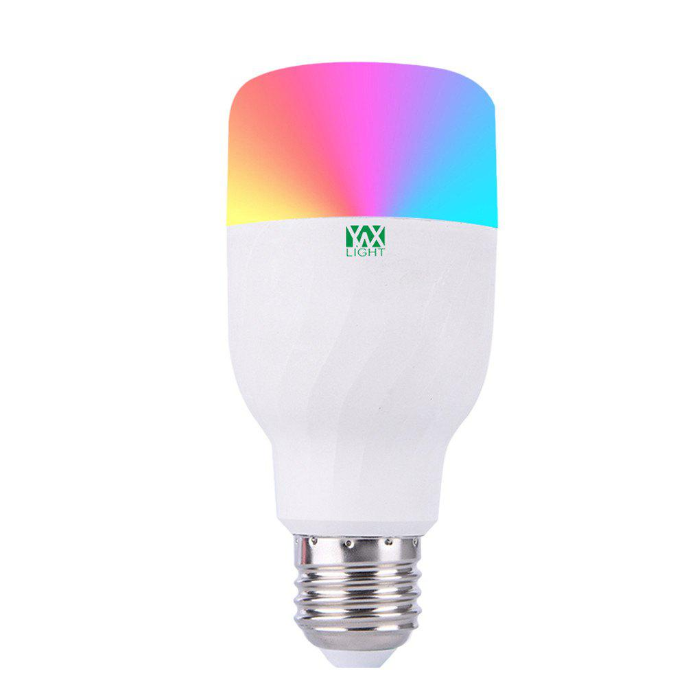 YWXLight Colorful APP WIFI Remote Control Smart LED RGBW Romantic Lamp Bulb - multicolor
