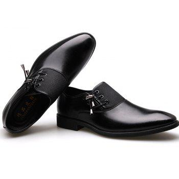 New Men's Classic Point Toe Oxfords For Men Fashion Business Party Dress Shoes - NIGHT 45