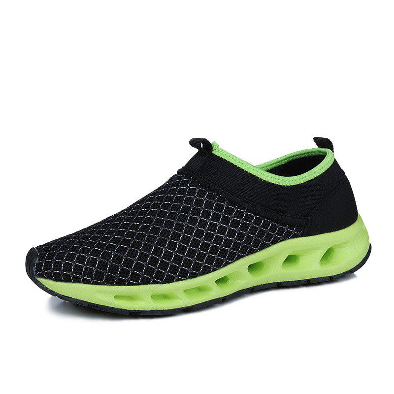 Men Textile Breathable Running Sneakers Outdoor Water Shoes msstor retro women men running shoes man brand summer breathable mesh sport shoes for woman outdoor athletic womens sneakers 46