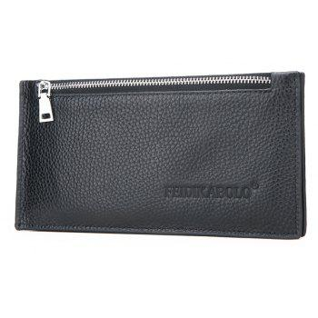 Business Casual Multi-card Wallet Card Package - BLACK