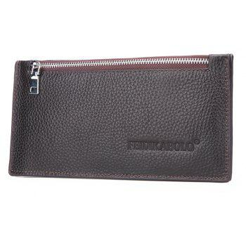 Business Casual Multi-card Wallet Card Package - DEEP COFFEE