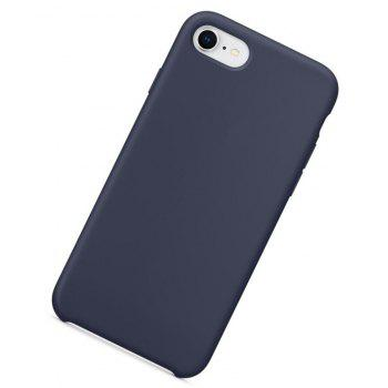 Case for iPhone 8  / 7 Silica Gel Shell - MIST BLUE