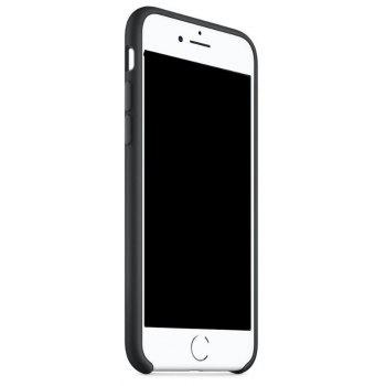 Case for iPhone 8  / 7 Silica Gel Shell - BLACK