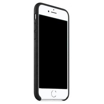Case for iPhone 8  / 7 Leather Shell - BLACK