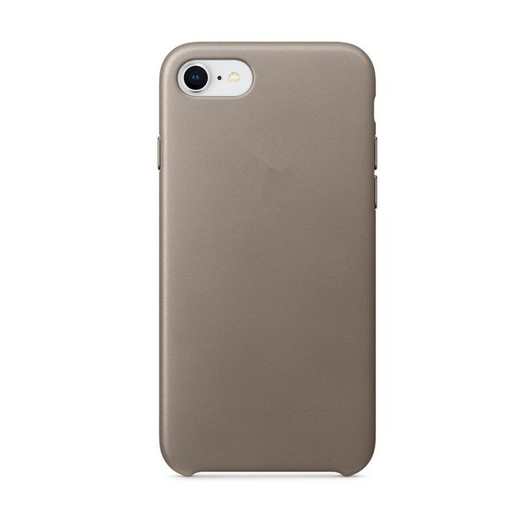 Case for iPhone 8  / 7 Leather Shell - BATTLESHIP GRAY