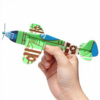 10PCS Flying Glider Planes Gift Birthday Christmas Party Bag Filler - multicolor