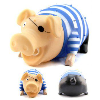 Jumbo Squishy Vent Decompression Spoof Toy - ROYAL BLUE