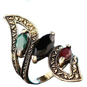 Women S Exquisite Vintage and High Quality Resin Ring