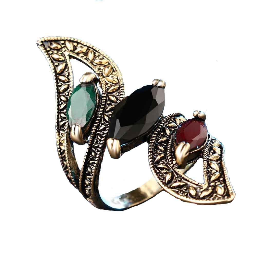 Women'S Exquisite Vintage and High Quality Resin Ring 260343405