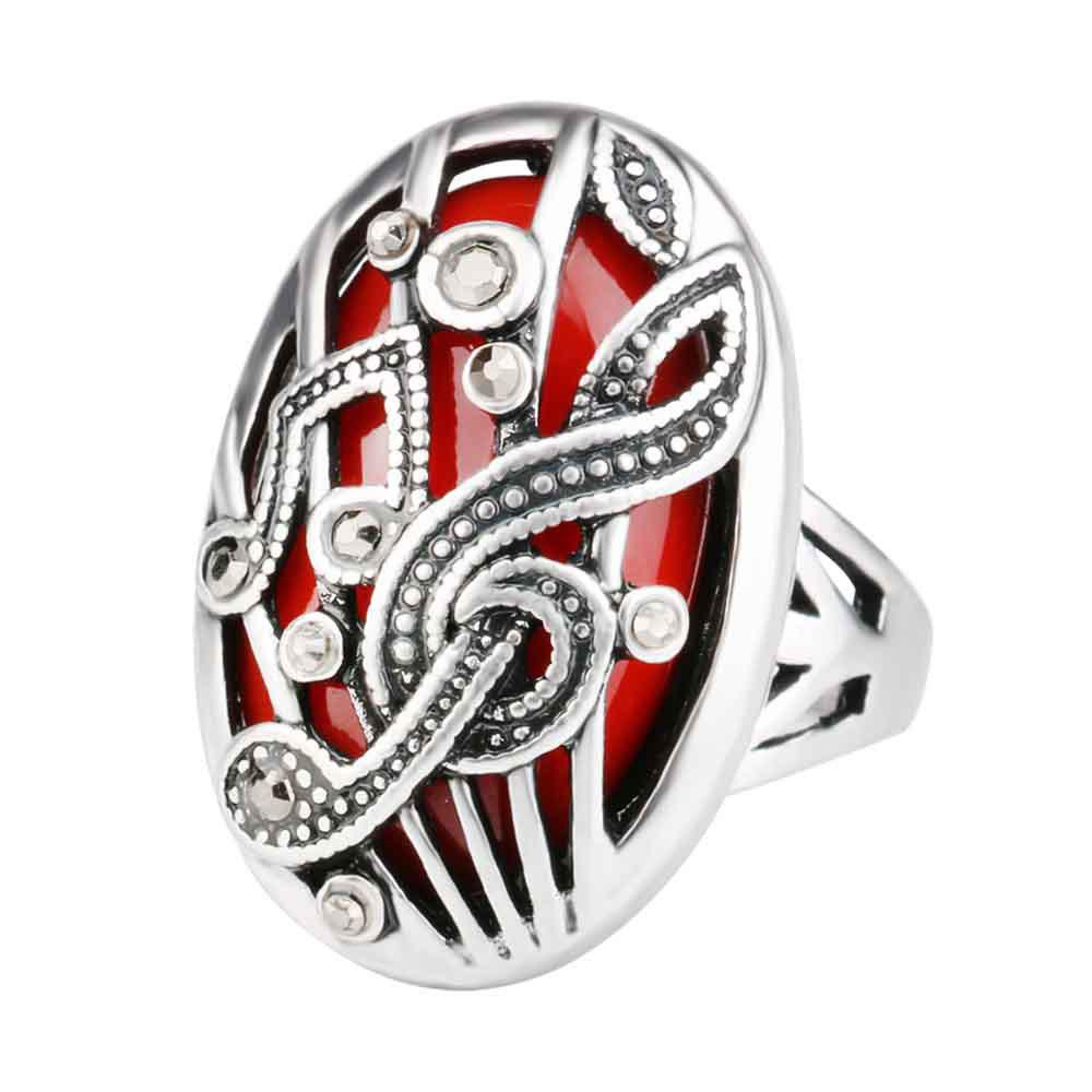 Bohemian Hollowed-out Set of European and American Vintage Rings themost sexy fish mouth hollowed out roman sandals fashion foreign trade european and american style four colors can be selected