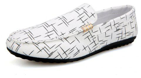 New Spring Fashion Men's Lazy Shoes - MILK WHITE 44
