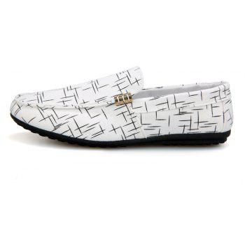 New Spring Fashion Men's Lazy Shoes - MILK WHITE 41