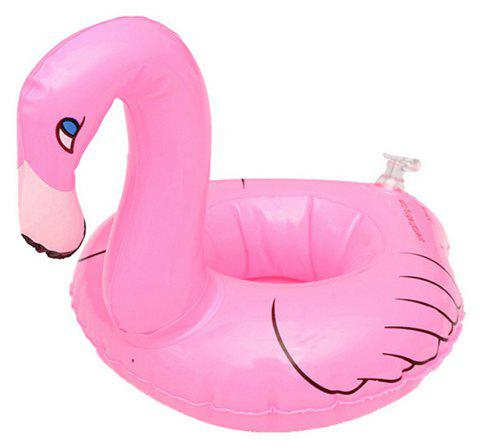 Inflatable Cup Holder Floating Row - HOT PINK