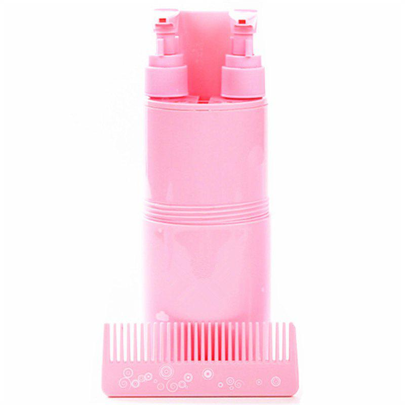 New Creative Points Travel Bottle Wash Gargle Cup Suits - PINK
