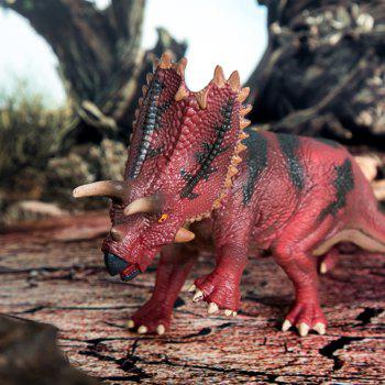 Angry Pentagonal Dinosaur Toy - RED