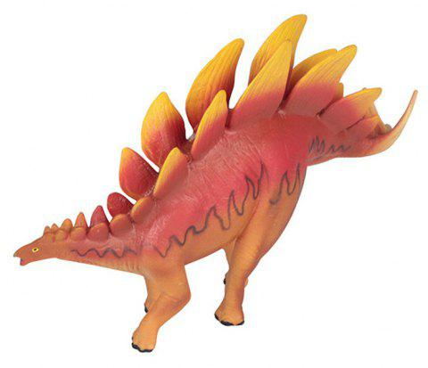 Angry Stegosaurus Model Toy - RED