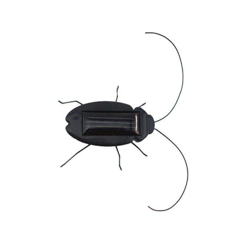 Mini Solar Power Insect Toy - BLACK