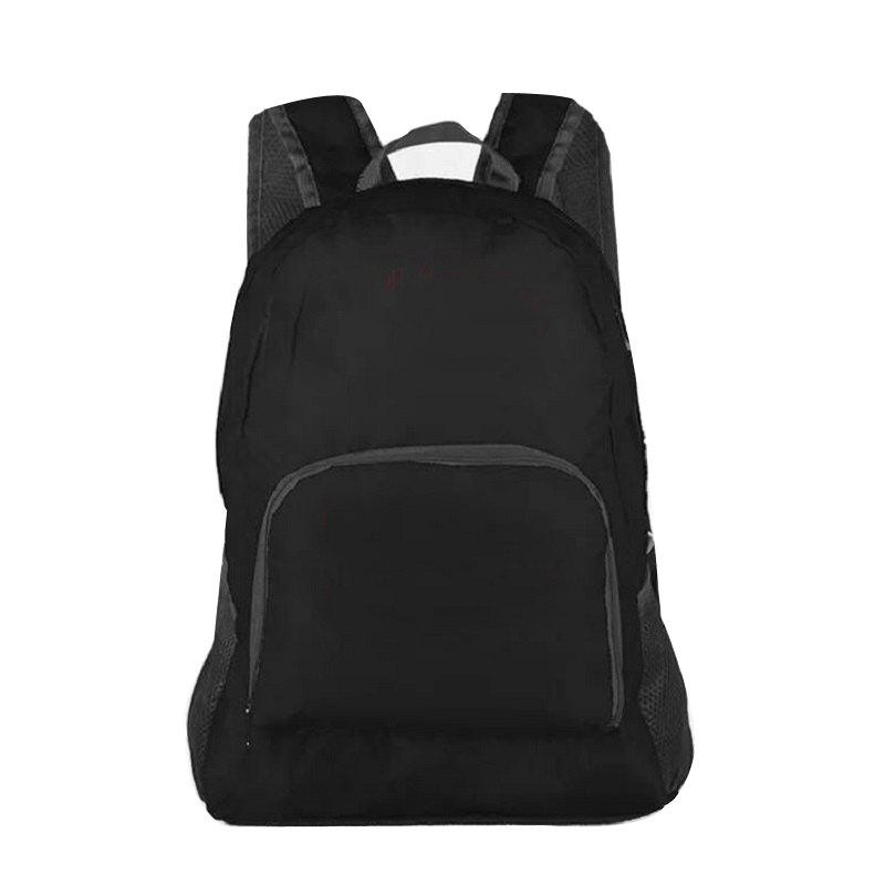 Waterproof Outdoor Backpack Travel Bag - BLACK