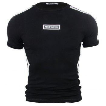 Men s Cotton Short Sleeved T Shirt