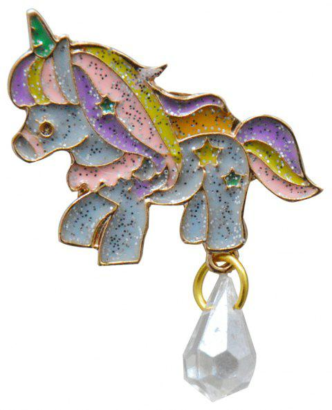 Women'S Brooch Animal Unicorn  Pins Brooches Gifts for Children - GOLD