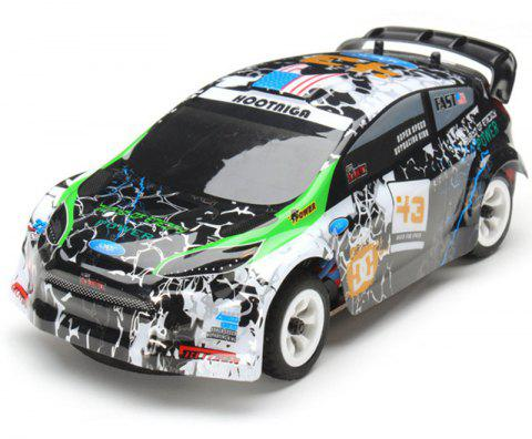 K989 1:28 2.4G 4WD Brushed RC Rally Car - WOODLAND CAMOUFLAGE