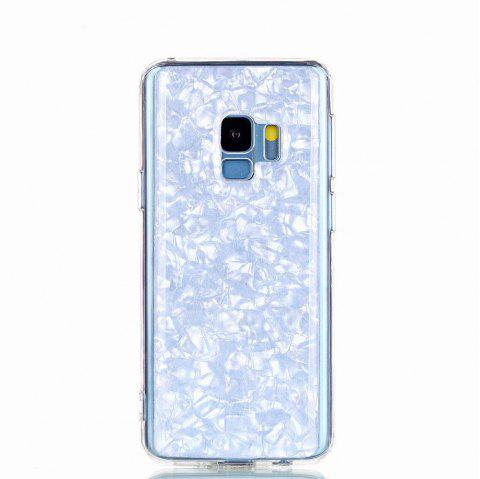 Sequins Epoxy Glitter Phone Shell for Samsung Galaxy S9 Case TPU Soft - MAUVE