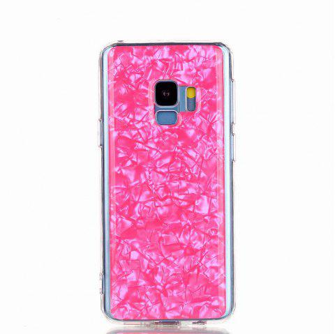 Sequins Epoxy Glitter Phone Shell for Samsung Galaxy S9 Case TPU Soft - PINK