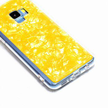 Sequins Epoxy Glitter Phone Shell for Samsung Galaxy S9 Case TPU Soft - GOLDEN BROWN