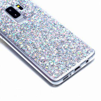 Flash Glitter Cases for Samsung Galaxy S9 Plus Soft Shiny Cover Shell Phone - PLATINUM