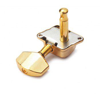 Gold Fully Enclosed Guitar Tuning Pegs Machine Heads 3L3R - GOLD
