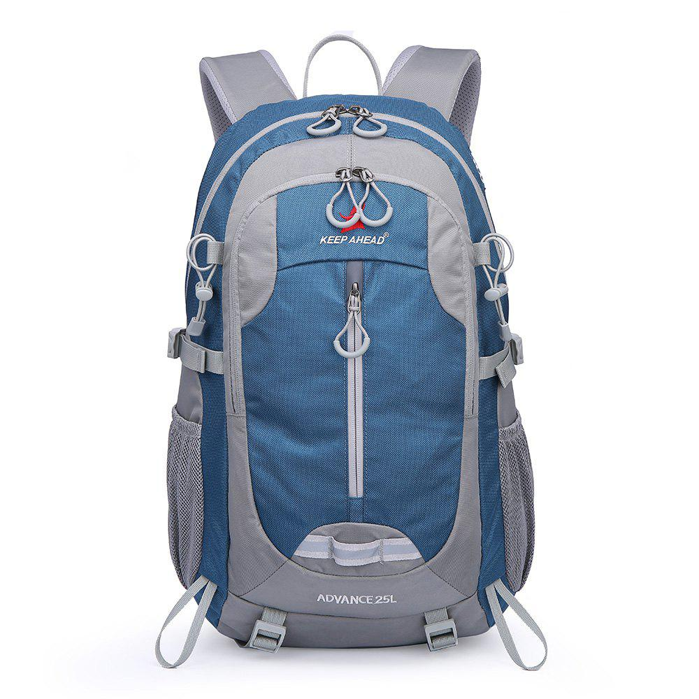 Casual Shoulder Outdoor Climbing Bag Travel Waterproof Large Capacity - BLUE KOI