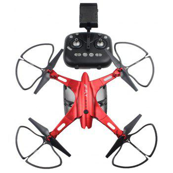 Parrokmon Huge Size Foldable Drone with WiFi FPV Camera - RED