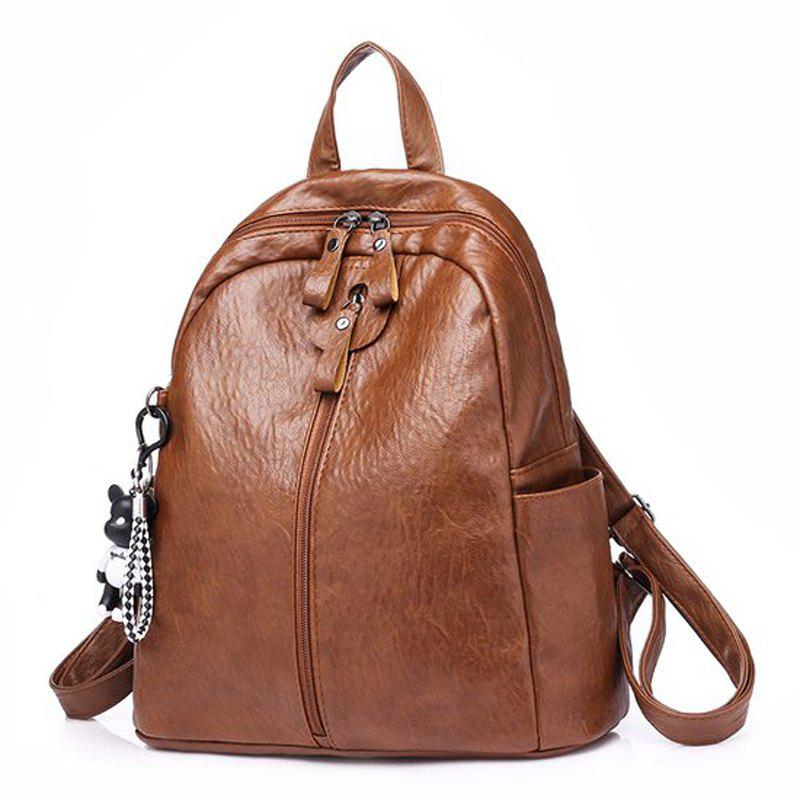 Fashion Backpacks Small Style Bag Ladies Travel Bags Women Pu Leather women backpack retro fashion pu leather bag for teenage girls school backpacks black rucksack brown solid bags mochila xa109h