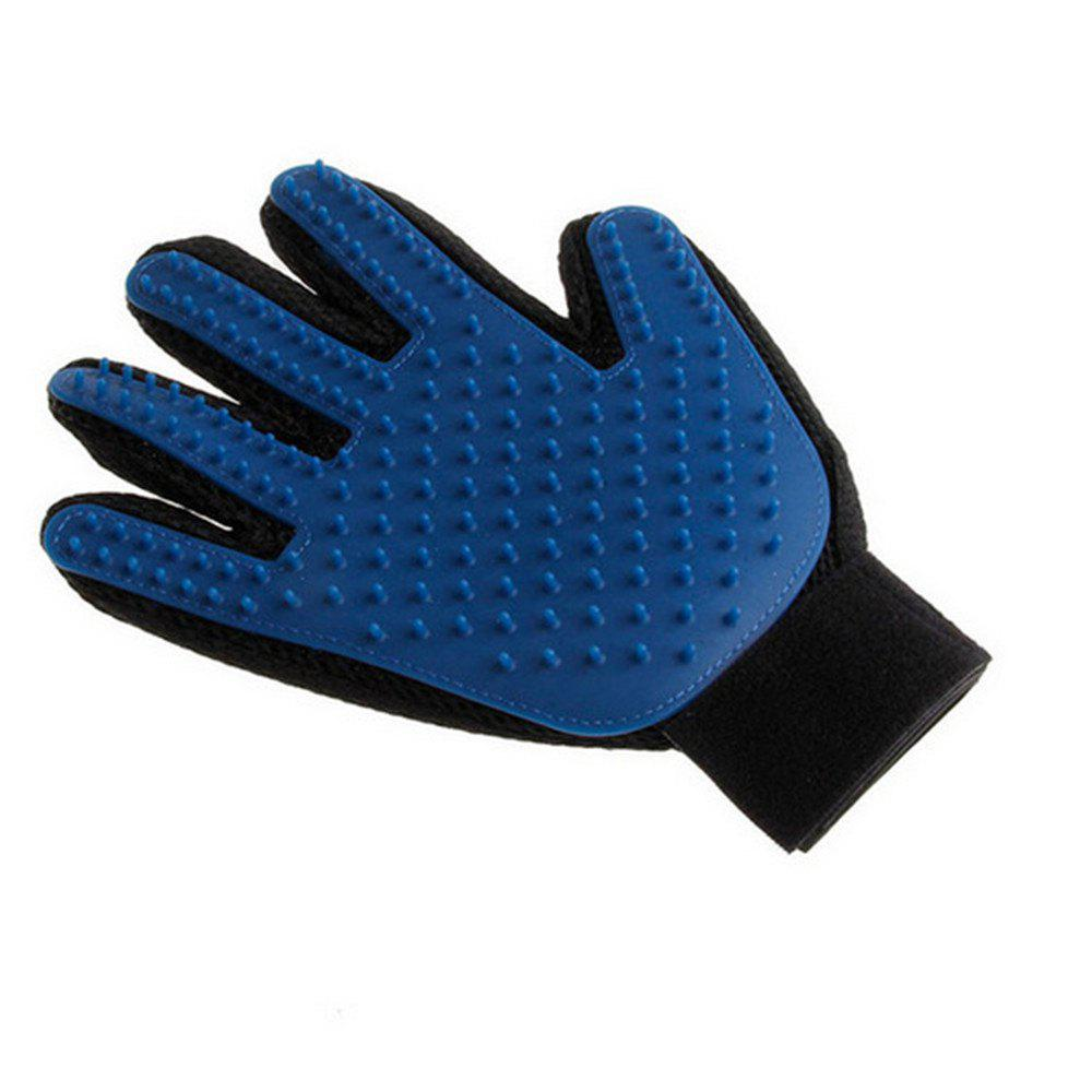 Silicone Pet Brush Gloves Wash Gentle and Efficient Beauty Dog Bath Cat Cleaning 260471301