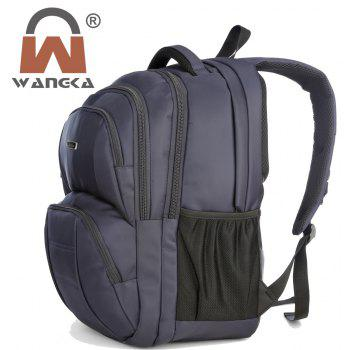 WANGKA Multifunctional Computer Backpack Men's Shoulder Bag - SAPPHIRE BLUE VERTICAL